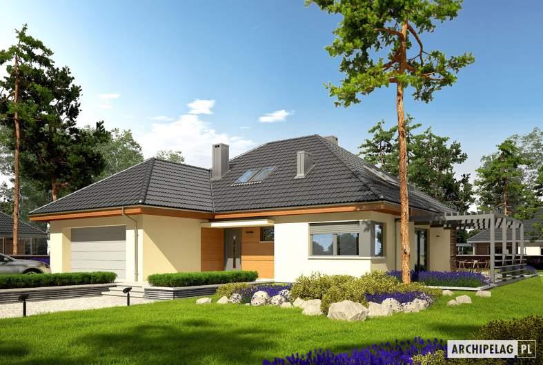 Projekt domu Astrid III G2 - Projekty domów ARCHIPELAG - Astrid III G2 - wizualizacja frontowa