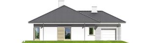 Projekt domu Morgan II G1 - elewacja lewa