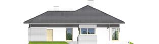 Projekt domu Morgan II G1 - elewacja prawa
