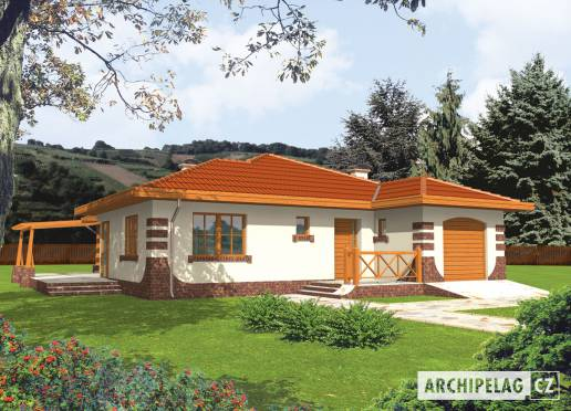 Projekt rodinného domu - Rozálie