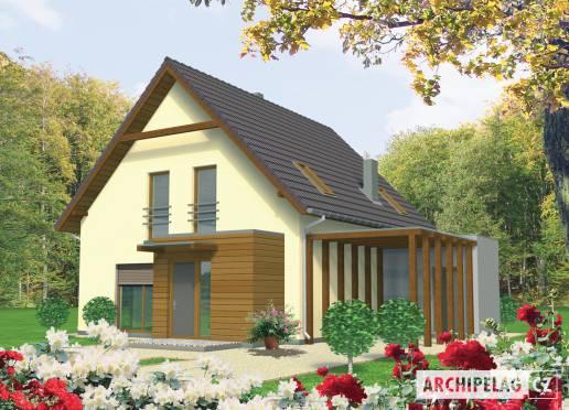 Projekt rodinného domu - Eržika