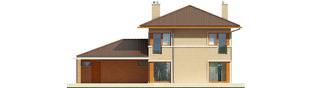 Projekt domu Rodrigo IV G2 - elewacja tylna