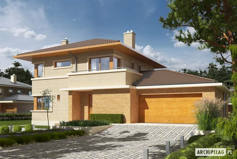 Projekt domu Rodrigo IV G2 - wizualizacja frontowa