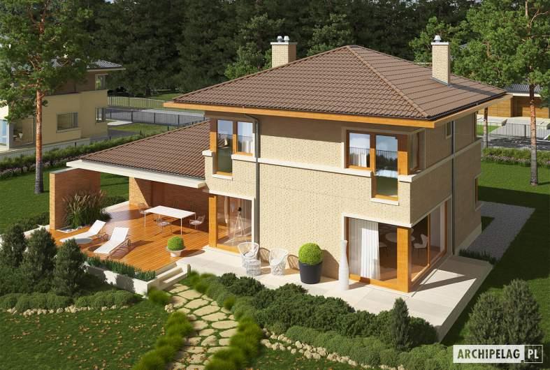Projekt domu Rodrigo IV G2 - widok z góry