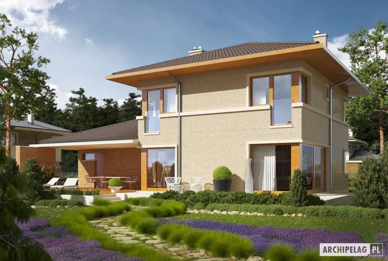 Projekt domu Rodrigo IV G2 - wizualizacja ogrodowa