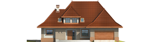 Projekt domu Marcelina G2 - elewacja frontowa