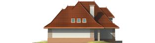Projekt domu Marcelina G2 - elewacja prawa