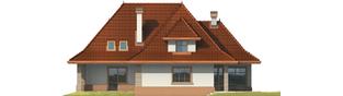 Projekt domu Marcelina G2 - elewacja tylna