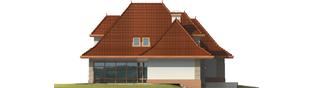 Projekt domu Marcelina G2 - elewacja lewa