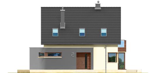 Mati - Projekt domu Mati - elewacja frontowa