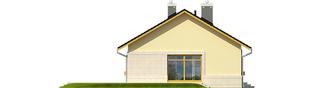 Projekt domu Erin IV - elewacja lewa