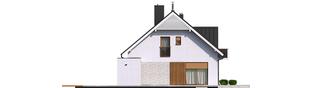 Projekt domu Katrina G2 - elewacja lewa