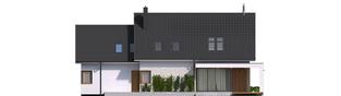 Projekt domu Katrina G2 - elewacja tylna