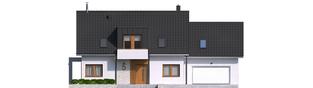 Projekt domu Katrina G2 - elewacja frontowa