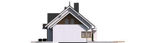 Projekt domu Katrina G2 - elewacja prawa