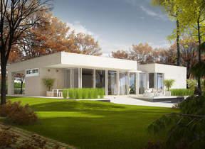 Namų projektai: vieno aukšto