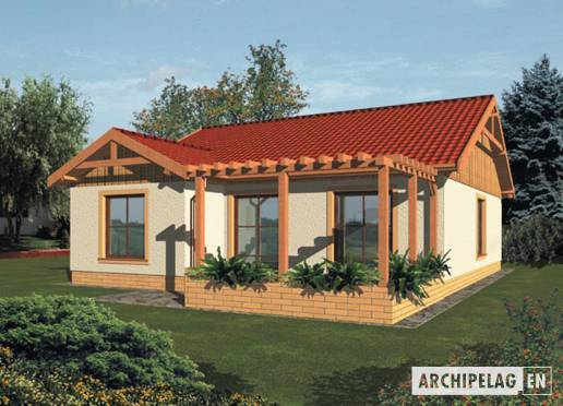 House plan - Malina (v. I)