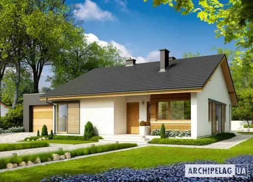 Проект будинку - Рафаель ІV (Г1, 30°)