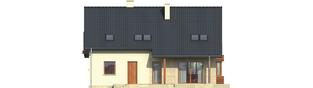Projekt domu Robin G1 - elewacja tylna