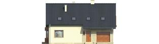Projekt domu Robin G1 - elewacja frontowa