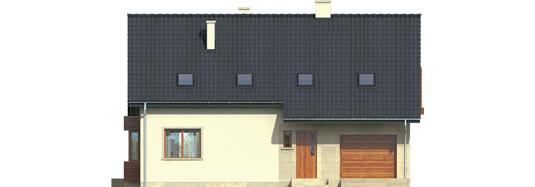 Robin G1 - Projekt domu Robin G1 - elewacja frontowa