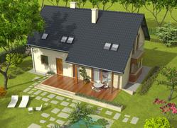 Projekt rodinného domu: Rob G1