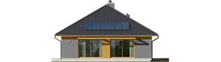 Projekt domu Dawid G1 - elewacja lewa