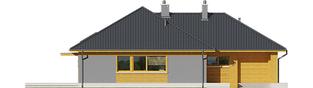 Projekt domu Dawid G1 - elewacja frontowa