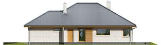 Projekt domu Glen V G1 - elewacja prawa