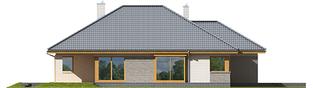 Projekt domu Glen V G1 - elewacja lewa