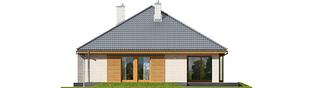 Projekt domu Glen V G1 - elewacja tylna