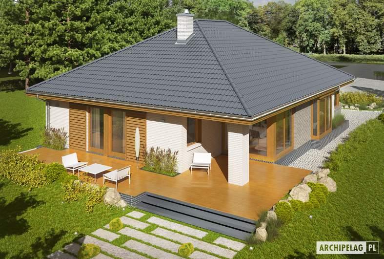 Projekt domu Glen V G1 - Projekty domów ARCHIPELAG - Glen V G1 - widok z góry