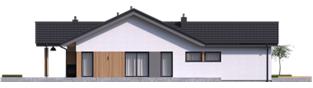 Projekt domu Simon IV G2 - elewacja lewa