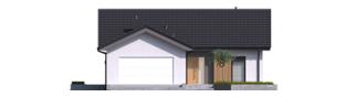 Projekt domu Simon IV G2 - elewacja frontowa