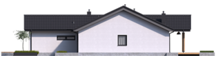 Projekt domu Simon IV G2 - elewacja prawa