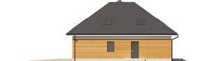 Projekt domu Olaf G2 ENERGO PLUS - elewacja prawa