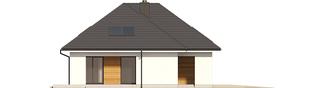 Projekt domu Olaf G2 ENERGO PLUS - elewacja lewa