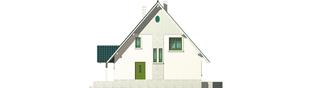 Projekt domu Hania - elewacja prawa