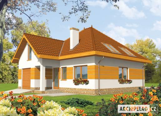Projekt rodinného domu - Ágnes