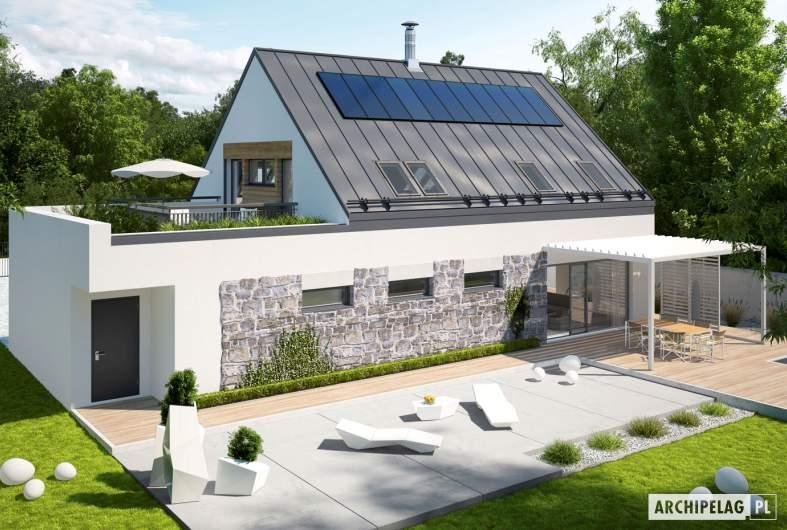 Projekt domu Sam II G2 ENERGO PLUS - widok z góry