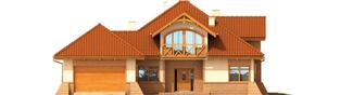 Projekt domu Mateusz G2 - elewacja frontowa