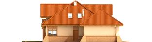 Projekt domu Mateusz G2 - elewacja lewa