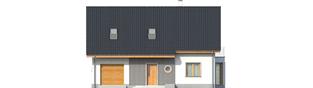 Projekt domu Ben G1 - elewacja frontowa
