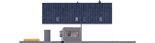 Projekt domu Riko III G2 - elewacja prawa