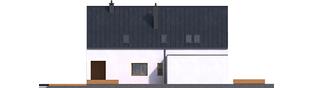 Projekt domu Riko III G2 - elewacja lewa