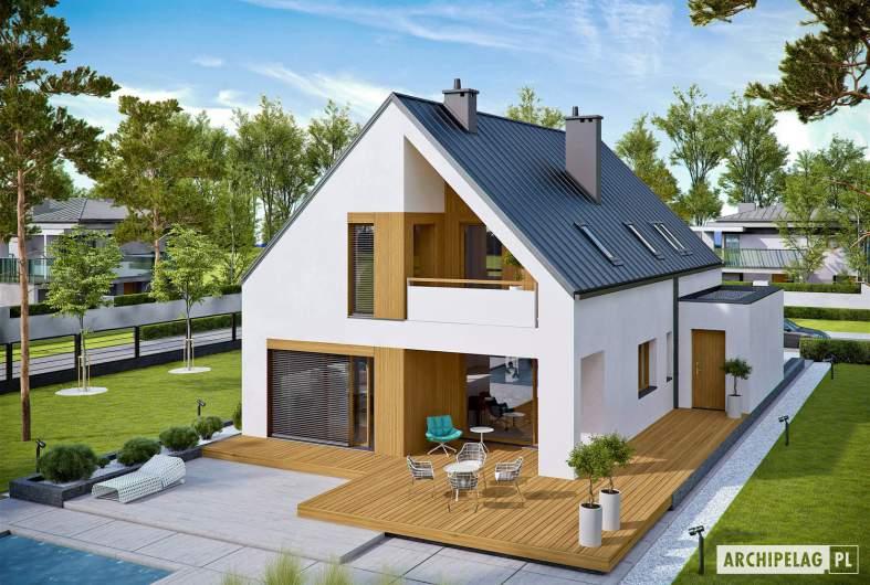 Projekt domu Riko III G2 - widok z góry
