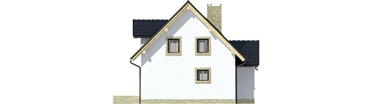 Evelínka - Projekt domu Ewelinka - elewacja prawa
