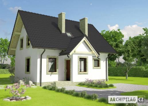 Projekt rodinného domu - Evelínka