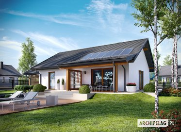 Projekt: Kornel VI (z wiatą) ENERGO