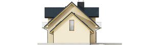 Projekt domu Marisa IV G1 ENERGO - elewacja prawa